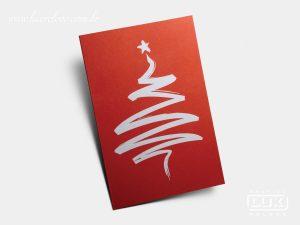 Cartão de Natal Bain