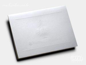 Cartão de Natal Warburg