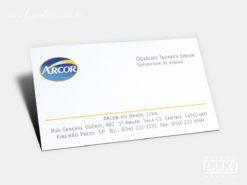 Cartão de Visita Arcor