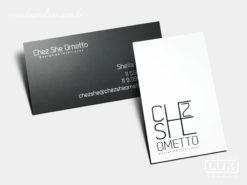 Cartão de Visita Chez She Ometto