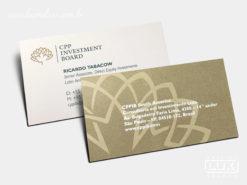 Cartão de Visita CPP Investment Board