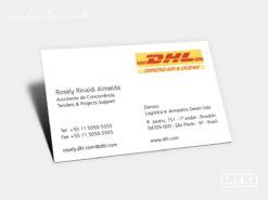 Cartão de Visita DHL