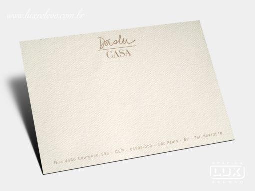 Cartão Social Daslu