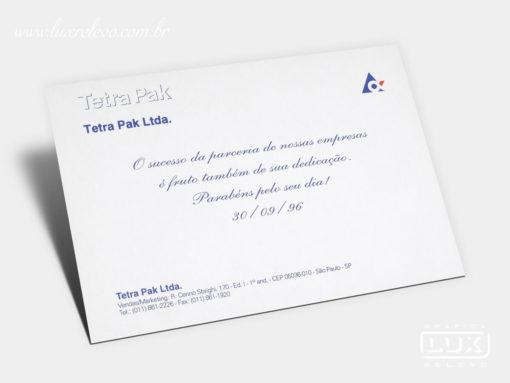 Cartão Social Tetra Pak