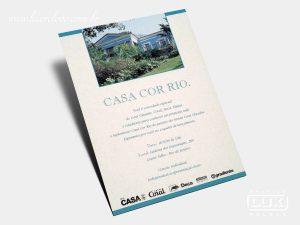 Convite Casa Cor Rio