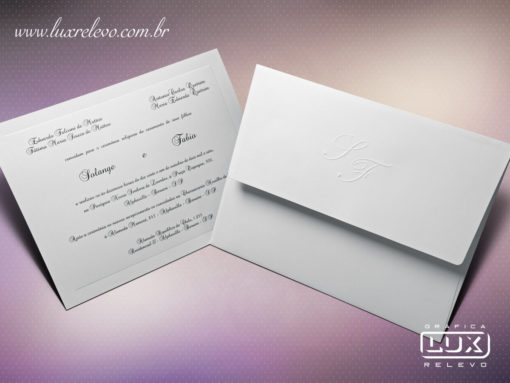 Convite de Casamento Clássico Romântico Floral Austrália GG