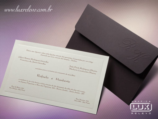 Convite de Casamento Clássico Rústico Austrália M