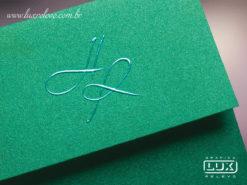 Convite de Casamento Romântico Barcelona PP