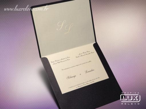 Convite Clássico Luxo Canadá G