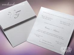 Convite Clássico Luxo Chicago M