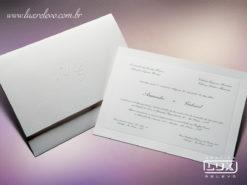Convite Clássico Luxo Dublin GG