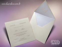 Convite Clássico Romântico Luxo Espanha G