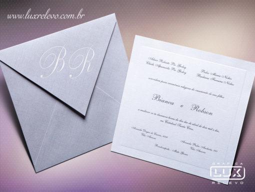 Convite Clássico Luxo Espanha P