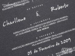 Convite de Casamento Moderno Frankfurt M