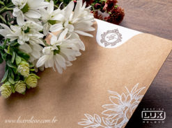 Convite de Casamento Romântico Rústico Frankfurt M Promocional