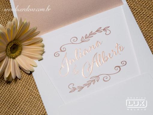 Convite de Casamento Clássico Romântico Moderno Luxo Inglaterra M 2018