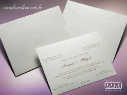 Convite Clássico Luxo Istambul XG