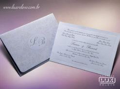 Convite Clássico Romântico Floral Luxo Itália GG