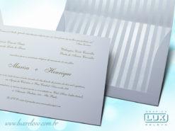 Convite de Casamento Clássico Itália M Promocional