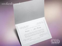 Convite de Casamento Clássico Itália XG
