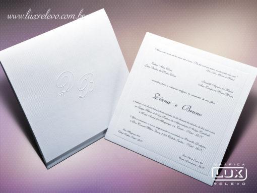 Convite Clássico Jacarta M