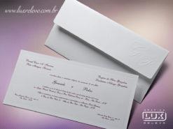 Convite de Casamento Clássico Portugal G
