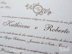 Convite de Casamento Clássico Portugal G Promocional