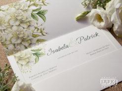 Convite Romântico Floral Aquarela Pretória G 2018