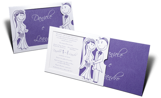Convite de Casamento Romântico Rio De Janeiro M