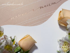 Convite de Casamento Romântico Moderno San Diego M 2019