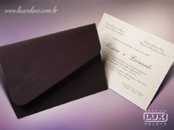 Convite de Casamento Clássico São Paulo GG