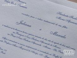 Convite de Casamento Clássico São Paulo M