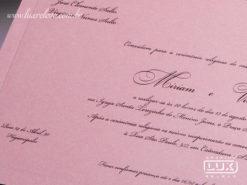Convite de Casamento Romântico Floral Sevilha G
