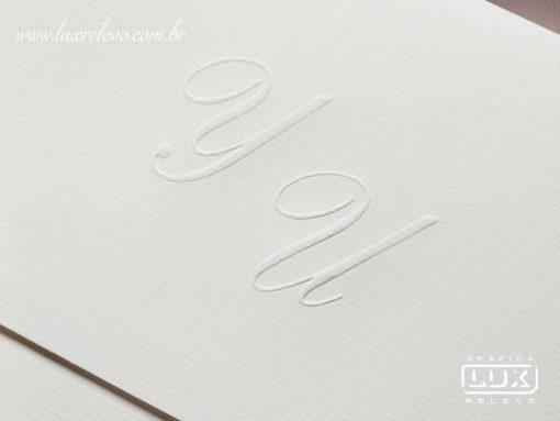 Convite de Casamento Clássico Toulouse G