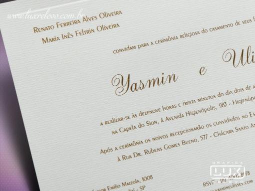 Convite Clássico Toulouse G