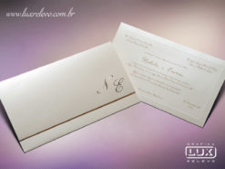 Convite Clássico Luxo Yokohama XG