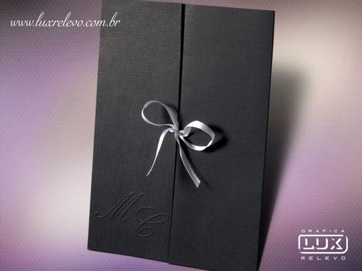 Convite de Casamento Romântico Zurique G