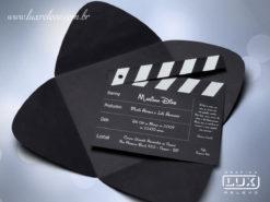 Convite de Debutante 15 Anos Moderno Hollywood M