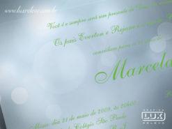 Convite de Debutante 15 Anos Romântico Lyon P