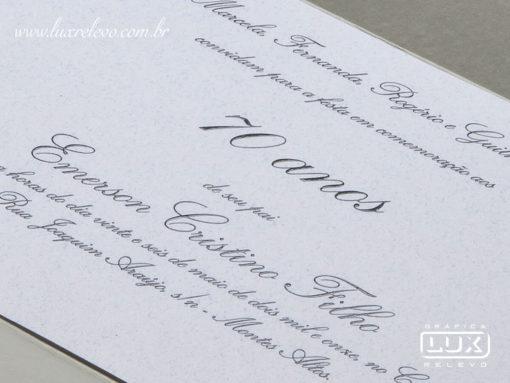 Convite de Debutante 15 Anos Clássico Romântico Marselha G