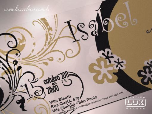 Convite de Debutante 15 Anos Moderno Santiago G