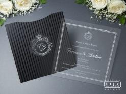 Convite de Debutante 15 Anos Moderno Clássico Vancouver Quadrado M 2019