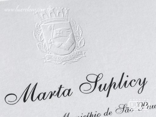 Convite Prefeitura Municipal de São Paulo