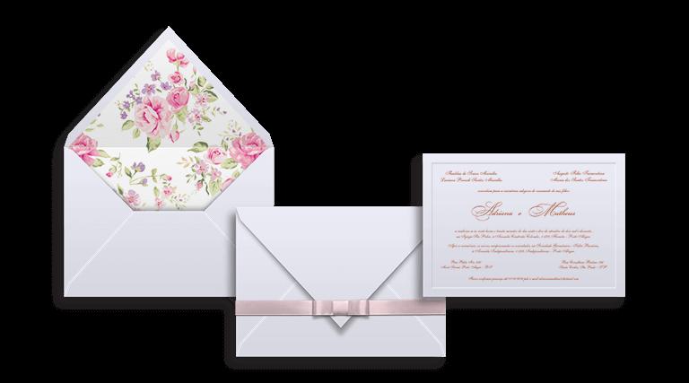 Crie seu Convite de Casamento Modelo França