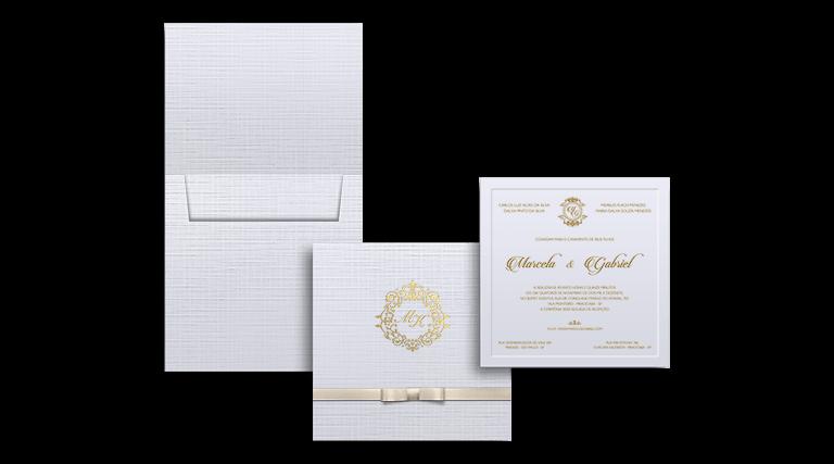 Crie seu Convite de Casamento Modelo Grécia