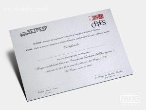 Diploma Certificado Setpesp