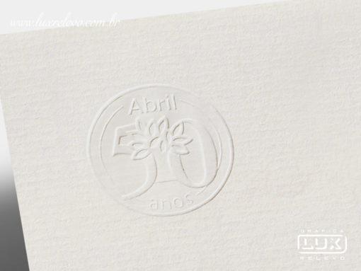 Envelope Editora Abril 50 Anos