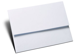 Acessório em Papelaria de Casamento Envelope para Minicards Florença