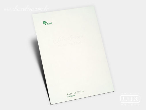 Papel de Carta Editora Abril
