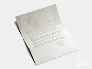 Papel de Carta Editora Abril 50 Anos